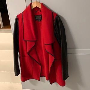 ❤️ Mackage wool & leather jacket